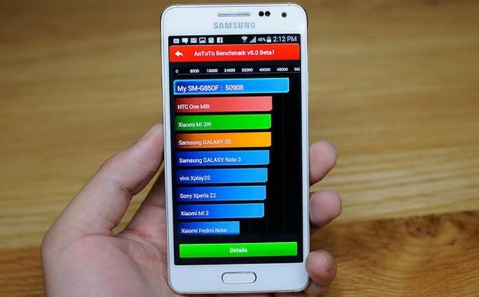 AnTuTu Benchmark тест эмулятора
