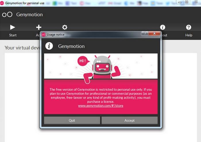 genymotion эмулятор Android
