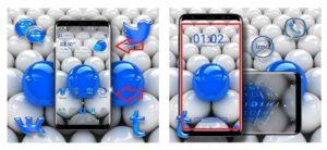 "Тема ""3D Balls Launcher Theme"""
