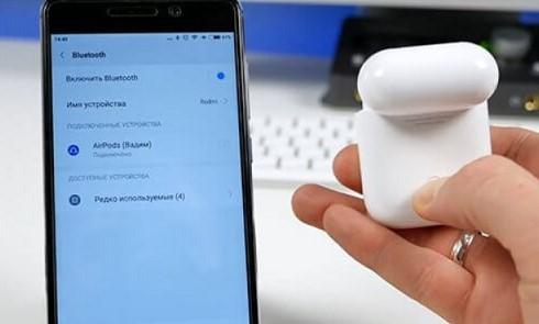 Как AirPods подключить к Android